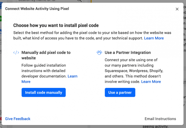 install code