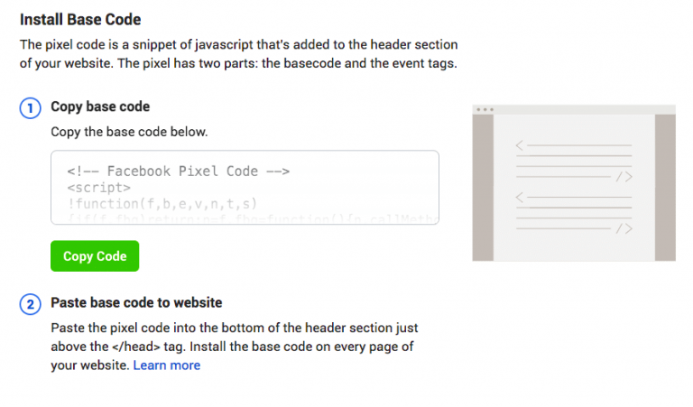 memasang kode facebook