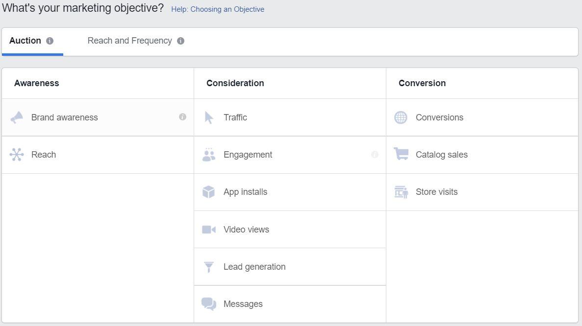 Objektif Iklan yang Beragam di Facebook Ads Manager