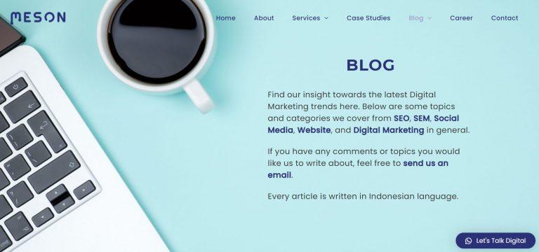 meson blog