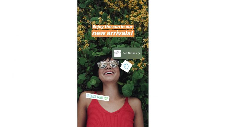instagram shopping stickers