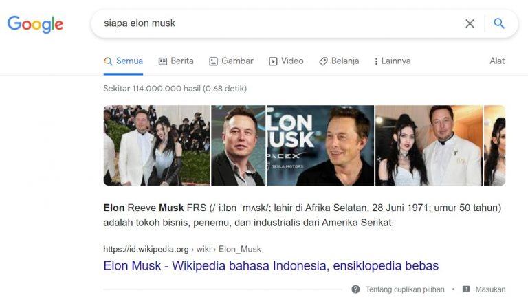 search result wikipedia